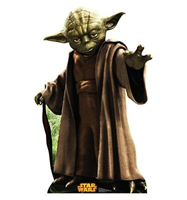Yoda - Star Wars Classics Retouched - Advanced Graphics Life Size Cardboard - Cardboard Star Costume