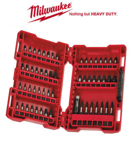 Milwaukee 56pc *Gen II Shockwave* Impact Screwdriver Set inc Magnetic Bit Holder