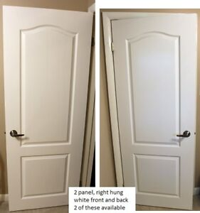 Interior doors - white hollow core