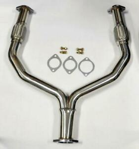 INFINITI G35 G37 Q60 2008-2014 Q50 2014-2018 FX35 QX70 2008-2017 AWD Y-PIPE EXHAUST STAINLESS STEEL
