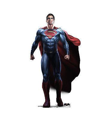 Superman Life Size Cut Out (Dc Comics Superman Vs Batman Clark Comic Life Size Standup Cardboard Cutout)