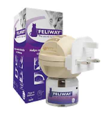 Feliway Diffuser (Plug-in plus cartridge), Premium Service, Fast Dispatch