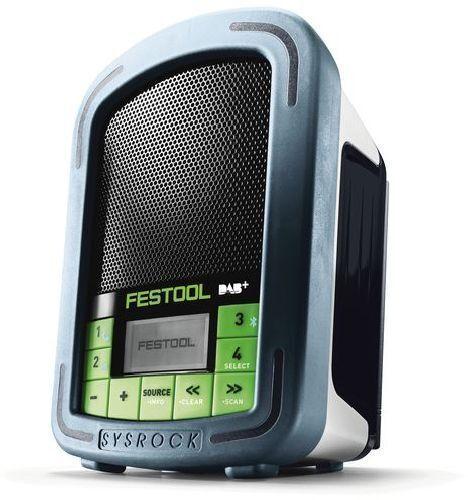 RADIO DIGITALE DA CANTIERE FESTOOL BR10 DAB+ SYSROCK (CODICE 202111) CON BORSA