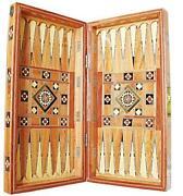 Backgammon Intarsien