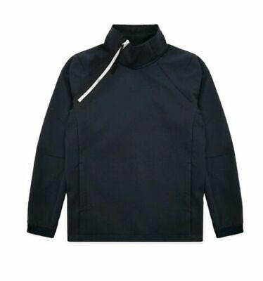 Nike Sportswear Tech Pack Woven Pullover Long Sleeve Top Size XL AR1546 475 Long Sleeve Woven Pullover