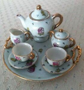 Miniature Tea Set Ebay