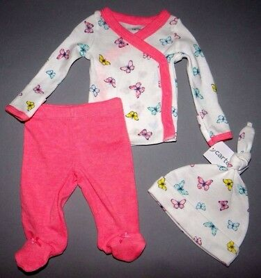 Baby girl clothes, Preemie, Carter