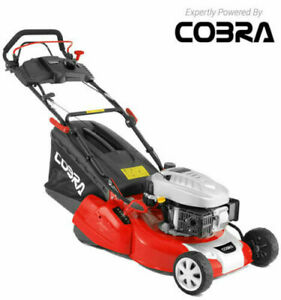 COBRA RM46SPCE Electric start lawn mower with self propelled and rear roller