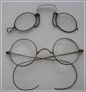 Antique Wire Eyeglasses