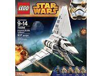 LEGO 75094 Star Wars Imperial Shuttle Tydirium Brand New sealed