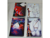 JOBLOT BUNDLE OF 21 APPLE IPAD MINI BIG HERO 6 PU LEATHER FOLIO CASE COVER STAND