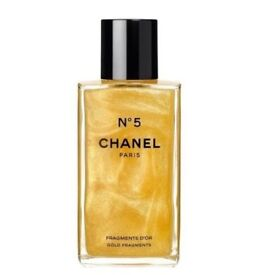 CHANEL NO 5 FRAGMENTS D'OR 250 ml GOLD BODY GEL LIMITED EDITION VALENTINES DAY