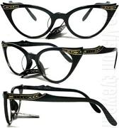 Black Cat Eye Glasses