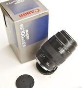 Canon EF 100mm Macro