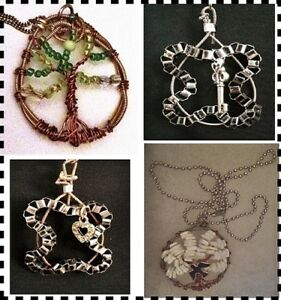 Guitar String Jewelry- Upcycled Acoustic String Necklaces
