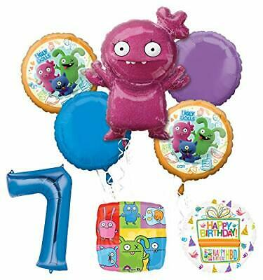 Mayflower Products Ugly Dolls Party Supplies 7th Birthday Balloon Bouquet Decor](Ugly Birthday)