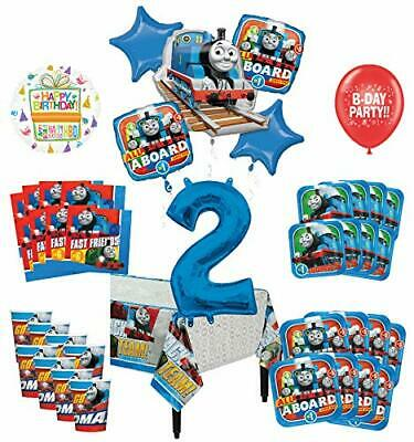 Mayflower Products Thomas The Train Tank Engine 2nd Birthday Party Supplies  - Balloon Tank