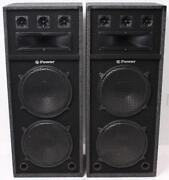 Used DJ Speakers