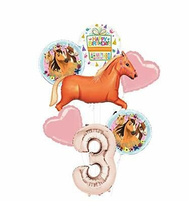Mayflower Products Spirit Riding Free Party Supplies 3rd Birthday Tan Horse Ball