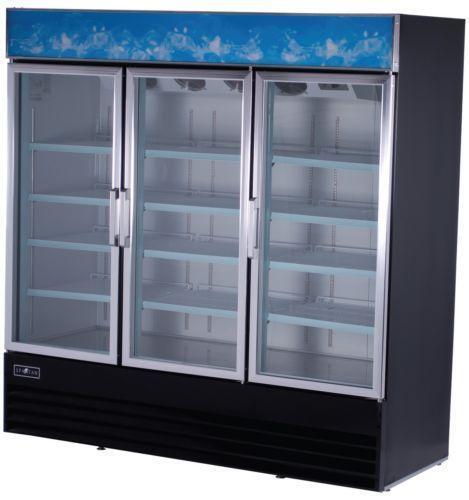 Glass Door Cooler Refrigerator Ebay