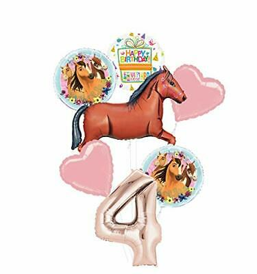 Mayflower Products Spirit Riding Free Party Supplies 4th Birthday Brown Horse - Spirit Products