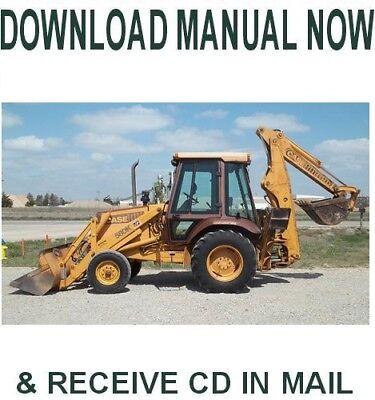 Case 580 K Loader Backhoe Shop Service Repair Manual On Cd