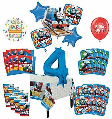 Mayflower Products Thomas The Train Tank Engine 4th Birthday Party Supplies