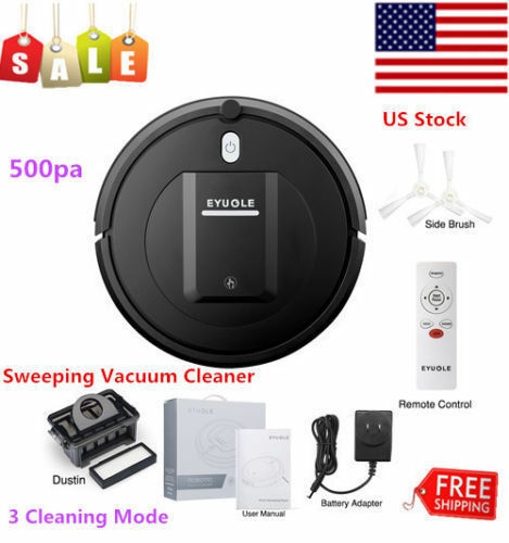 Eyugle Smart Sweeping Vacuum Robot Cleaner Height 500pa Suct