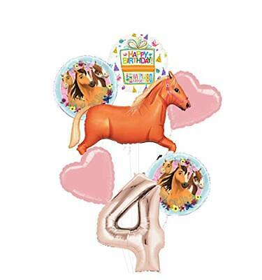Mayflower Products Spirit Riding Free Party Supplies 4th Birthday Tan Horse Ball