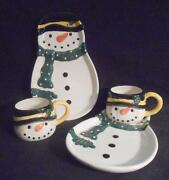 Snowman Plates