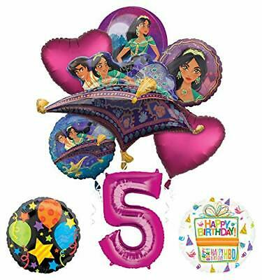 Mayflower Products Aladdin 5th Birthday Party Supplies Princess Jasmine - Jasmine Birthday Party Supplies