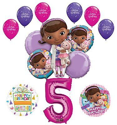 Doc McStuffins 5th Birthday Party Supplies   ()