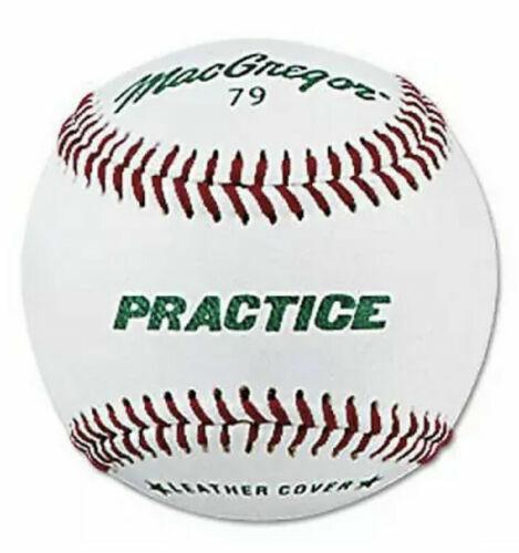 MacGregor ; #79 Practice Baseballs 12-Pack