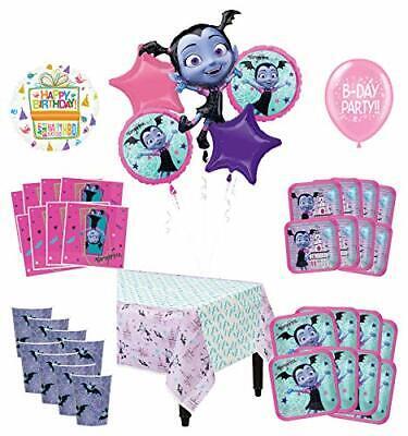 Mayflower Products Vampirina Birthday Party Supplies 8 Guest Decoration Kit