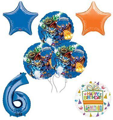 Skylander Birthday Party (Skylanders 6th Birthday Party Supplies and Balloon Decoration Bouquet)