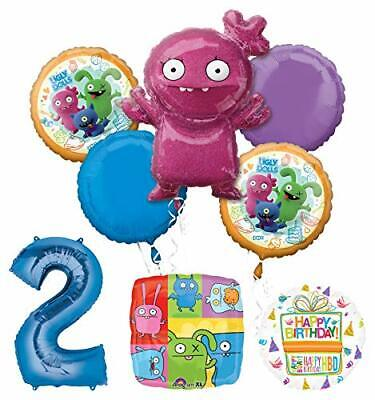 Mayflower Products Ugly Dolls Party Supplies 2nd Birthday Balloon Bouquet Decor](Ugly Birthday)