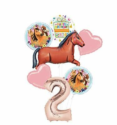 Mayflower Products Spirit Riding Free Party Supplies 2nd Birthday Brown Horse - Spirit Products