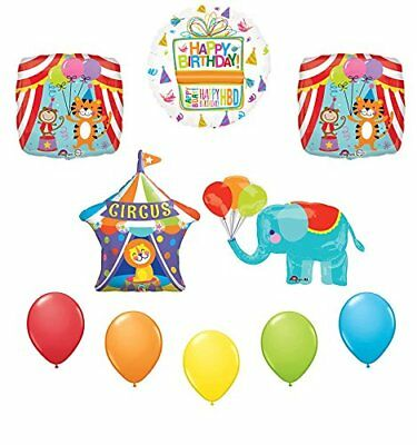 Elephant Party Supplies (Circus Elephant Birthday Party Supplies Decoration Balloon)
