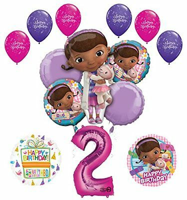 Doc McStuffins 2nd Birthday Party Supplies   ()