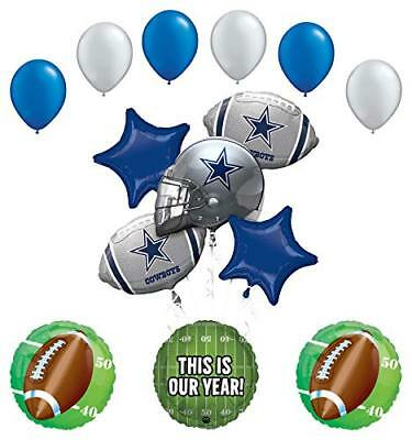 Mayflower Products Dallas Cowboys Football Party Supplies  Balloon