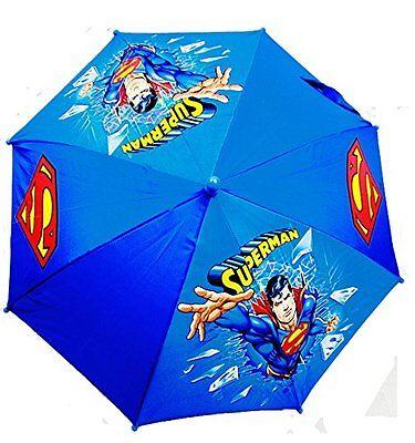 New DC Comics Superman Umbrella for kids-Blue - Superman For Kids