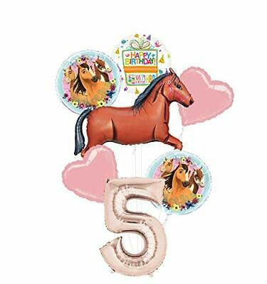 Mayflower Products Spirit Riding Free Party Supplies 5th Birthday Brown Horse - Spirit Products