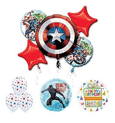 The Ultimate Avengers Black Panther Birthday Party Supplies and Balloon - Ultimate Black Panther