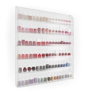 Home-it Nail Polish Rack Nail Polish Organizer Holds up to 120 B