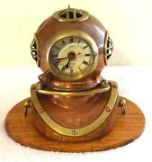 Brass Nautical Clock