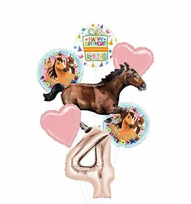 Mayflower Products Spirit Riding Free Party Supplies 4th Birthday Galloping H...