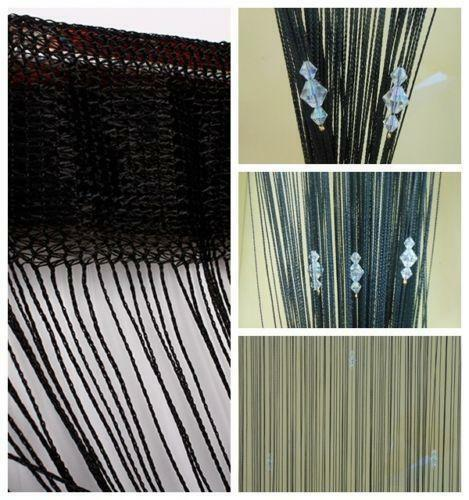 Beaded Curtains Bamboo Crystal And Metal Ebay