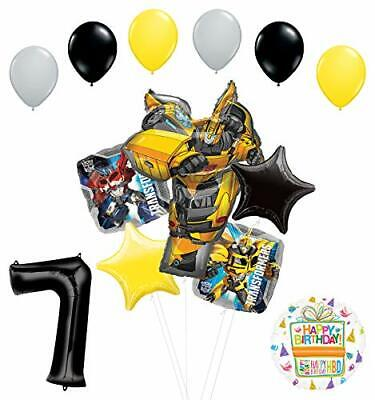 Transformers Mayflower Products Bumblebee 7th Birthday Party Supplies Balloon  - Transformers Birthday