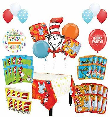 Mayflower Products Dr Seuss Birthday Party Supplies 8 Guest Decoration Kit and ](Dr Seuss Birthday Supplies)