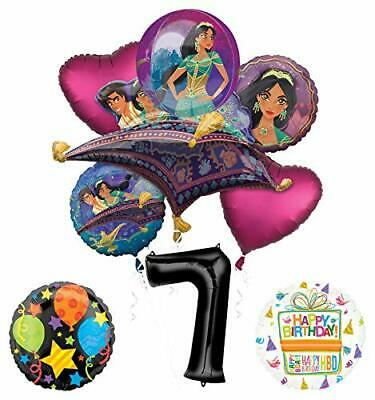 Mayflower Products Aladdin 7th Birthday Party Supplies Princess Jasmine - Jasmine Birthday Party Supplies